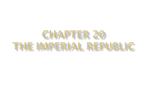 Chapter 20: Imperialism