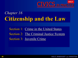 Chapter 16: Citizenship and the Law - Waverly