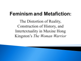 Feminism and Metafiction: