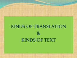 Kinds-of-Translation and collocation