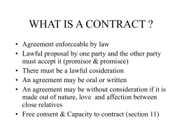 indian contract act 1872