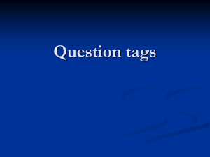 Question tags - WordPress.com
