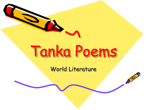 Tanka Poems