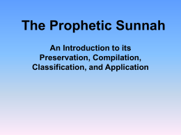 The Prophetic Sunnah - Summer Nights 2010 is here!