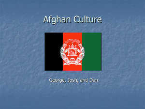 Afghan Culture - WordPress.com