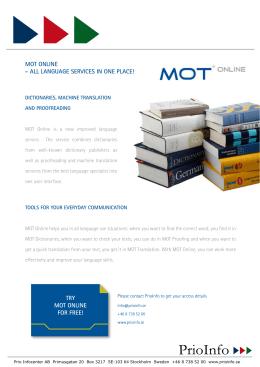 mot online - all language services in one place! try mot