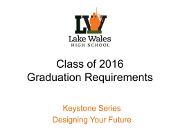 Class of 2016_Grad Requirements