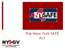 NY-SAFE-Act - New Yorkers Against Gun Violence