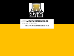 ALCOVY HIGH SCHOOL - Newton County Schools