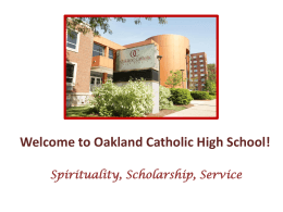 March 6 Uploaded @ 04:23 AM - Oakland Catholic High School
