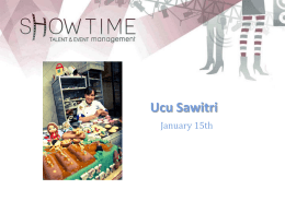 ucu - Showtime Management