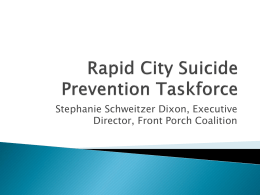 Rapid City Suicide Prevention Taskforce