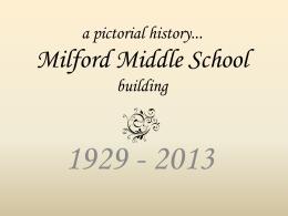 mms slideshow - Milford School District