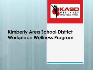Kimberly Area School District - Directors of Health Promotion and