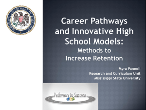 Using Career Pathways and Innovative School Models to Improve