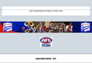 AFL Victoria - Port Melbourne Football Club