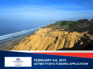 Farmers Insurance Open pres - San Diego Tourism Marketing