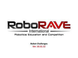 challenge - RoboRAVE International