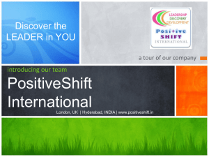 positiveshift