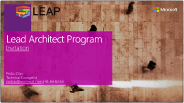 LEAP 2014 Overview