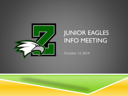 Parent Meeting Info - Zionsville Volleyball