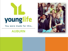Case 2014-2015 - Western Washington Young Life