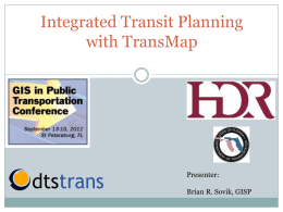 Powerpoint - Transit GIS Clearinghouse
