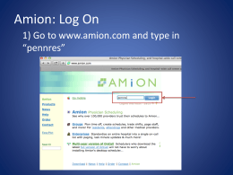AMiON Powerpoint
