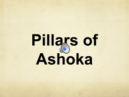 Pillars of Ashoka - Fremont School District 79