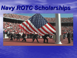 Navy ROTC Scholarships
