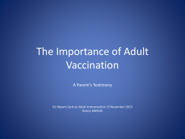the slides - VacciNews.net