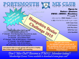 Hampshire Dealer Challenge 2015