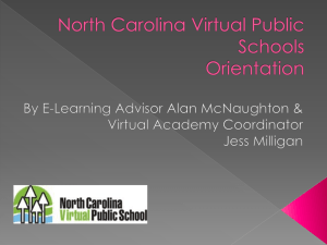 NCVPS InfoSession PowerPoint