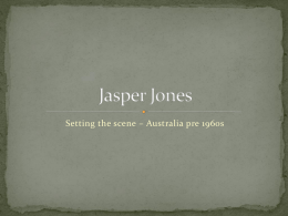 Background to Jasper Jones