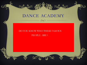 Dance Academy - Francis Lewis High School