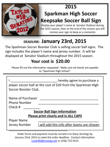 Soccer Ball Sign order form ()