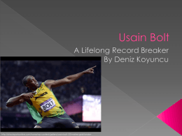 Usain Bolt - WordPress.com