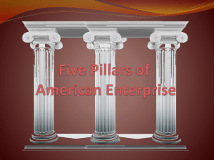Five Pillars of American Enterprise