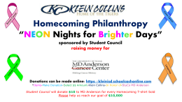 Klein Collins Homecoming October 11th, 2014 *Neon Nights for