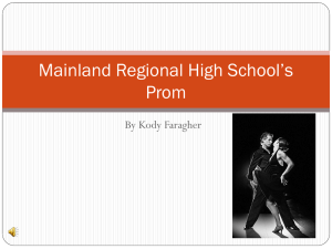 Mainland Regional High School`s Prom