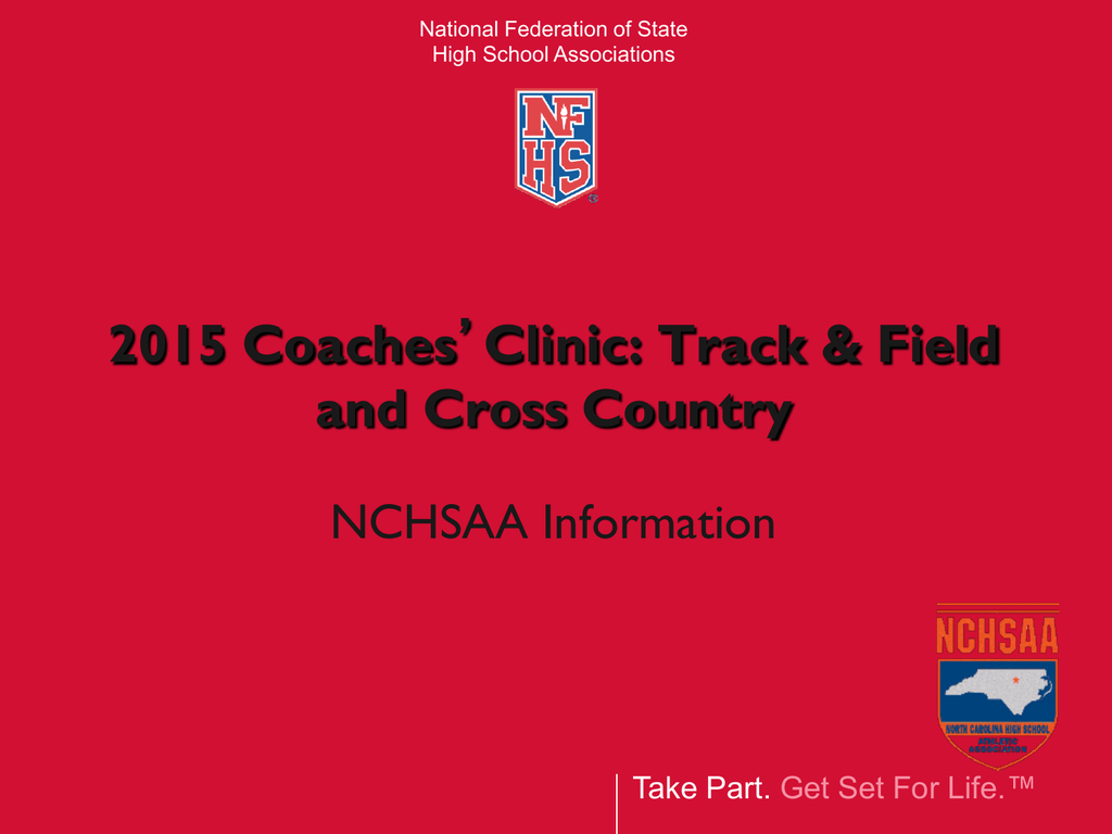 2015 Nfhs Track And Field Rules Powerpoint