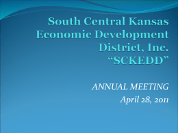 South Central Kansas Economic Development District, Inc. (SCKEDD)