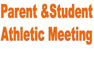 Athletic Meeting
