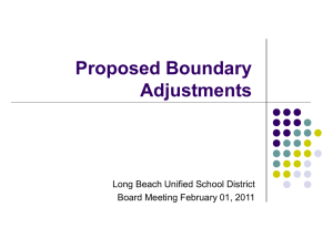 Boundary Recommendations