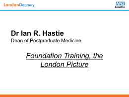 Dr Ian Hastie - South Thames Foundation School