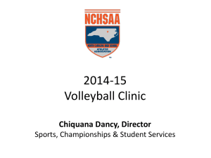 2014-15 Volleyball Coaches Clinic