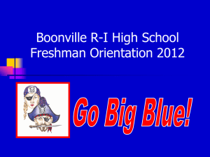 Boonville High School - Boonville R