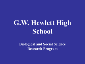 G.W. Hewlett High School - Hewlett