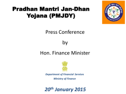 to see Pradhan Mantri Jan Dhan Yojana