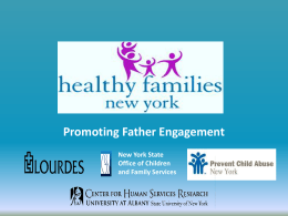 Promoting Father Engagement: Program Outcomes and Lessons
